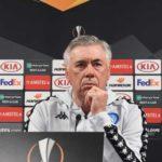 """Ancelotti a Sky:""""Il Napoli non vince fuori casa? Un pò colpa anche di Sarri"""" ( ride, ndr)"""
