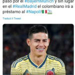 James Rodriguez- Napoli