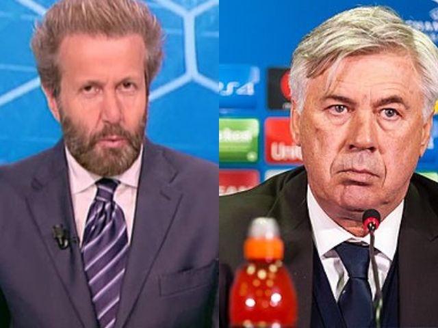 Bargiggia massacra Ancelotti, tifosi del Napoli furiosi