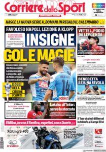 Corriere Dello Sport Calendario.Rassegna Stampa Del 29 Luglio 2019 Casanapoli Net