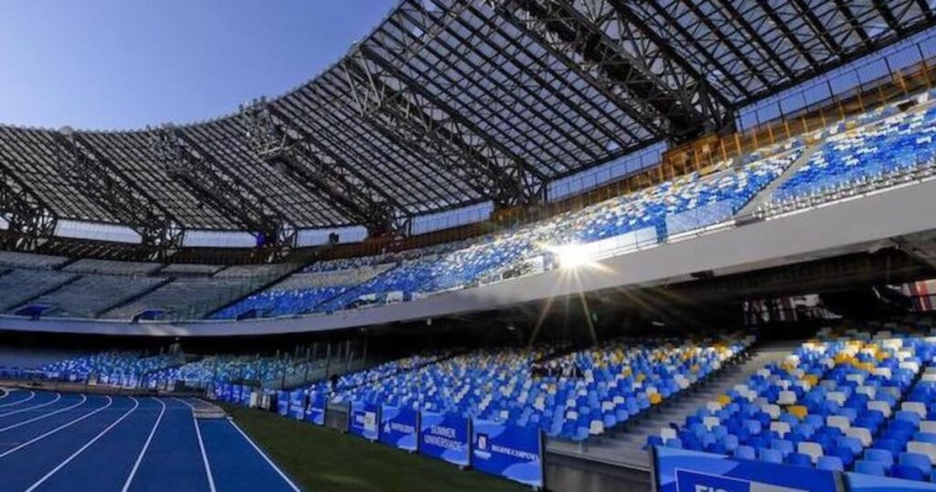 Lega serie A Stadio San Paolo