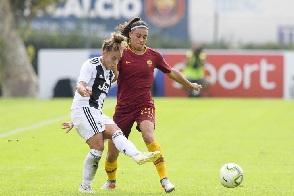 calcio femminile roma juve